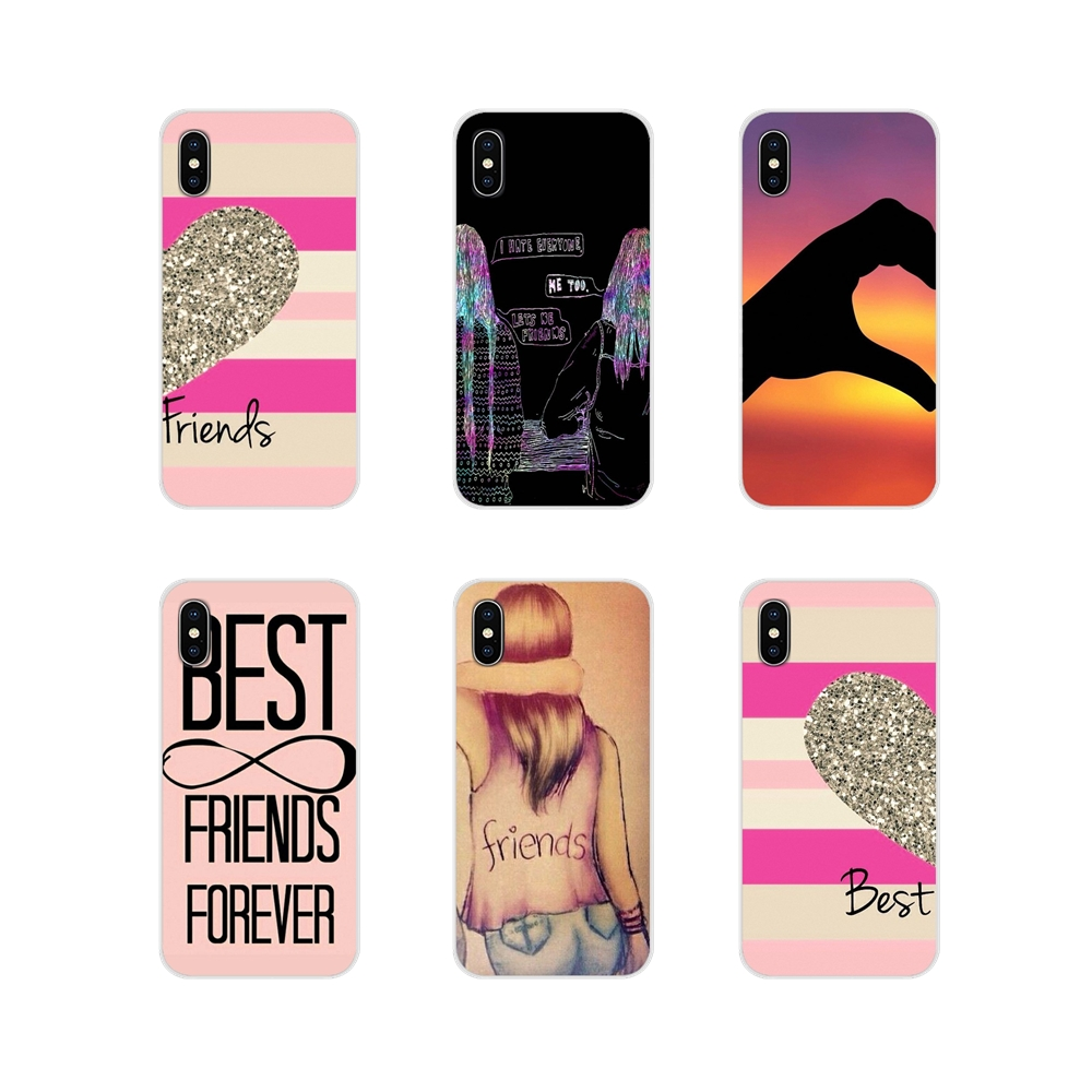 For Samsung A10 A30 A40 A50 A60 A70 Galaxy S2 Note 2 3 Grand Core Prime Accessories Phone Case Happy Best Friend Card BFF Mobile image