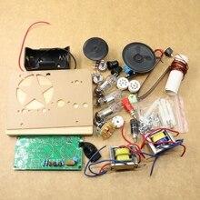 1 Stks/partij Vijf Wave Band Drie Lamp Buis Kortegolf Radio Kit Met Base Kit Gratis Verzending
