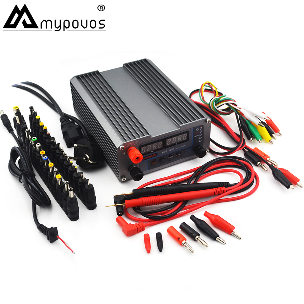NEW NPS-1601 CPS-3205 3205II Upgraded Version Mini Adjustable Digital DC <font><b>Power</b></font> <font><b>Supply</b></font> OVP/OCP/OTP WATT 0.001A 0.01V 32V <font><b>30V</b></font> <font><b>5A</b></font> image