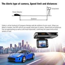 Автомобильный радар DVR 9V~ 24V 2 в 1 анти Антирадары 12 языков вождения Регистраторы видео Камера потока обнаружения Dash Cam автомобиля детектор