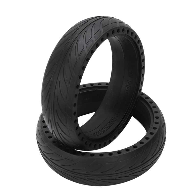 Pneu solide sans chambre de pneu Anti-Explosion de pneu de Scooter Durable pour des pièces de Scooter électrique de Ninebot Es1 Es2 Es4
