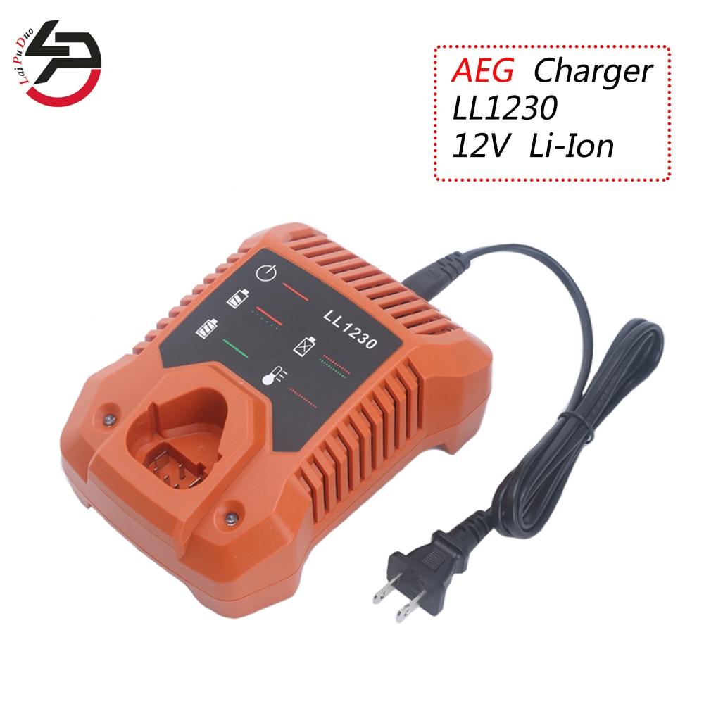 12V 3000mAh Lithium-Batterie für AEG BLL12C BS12C BS12C2 BSS12C Ridgid R8223400