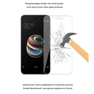Image 4 - For Xiaomi Redmi 5A Premium 2.5D 0.26mm Tempered Glass Screen Protector For Xiaomi Redmi 5A Protective Glass