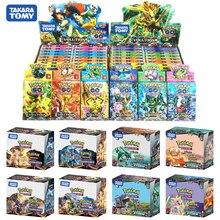 324PCS 100PCS 660PCS Lustige Französisch Englisch pokemon karten gx MEGA Glänzende Karten Spiel Schlacht Carte kaarten Kinder spielzeug