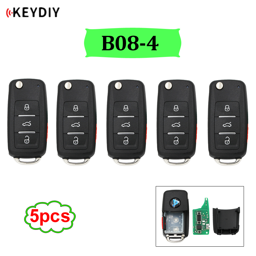 5pcs lot B08 3 1 universal B series remote control for KD200 KD300 KD900 URG200 mini