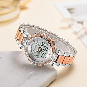 Image 5 - KADEMAN kobiety zegarki LCD luksusowe nowe prezenty pani cyfrowy zegarek moda dziewczyna TOP marka bransoletka elegancki kobiet biznesu zegarek