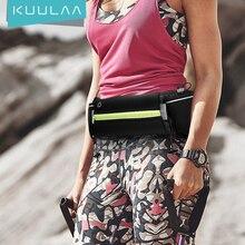 Kuulaa Ultradunne Sport Taille Packs Outdoor Waterdichte Pack Belt Bag Phone Pouch Fanny Opknoping Tas Mannen Vrouwen Taille pack