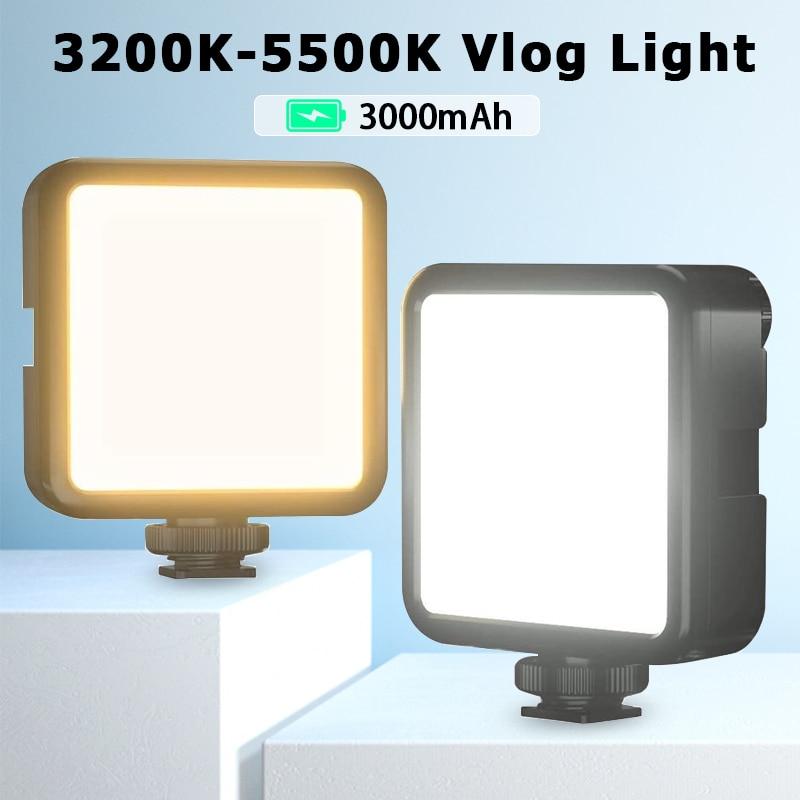 Ulanzi Led-Video-Light Camera Smartphone Dimmable Vijim Vl81 Rechargable Mini Vlog 3200k-5600k