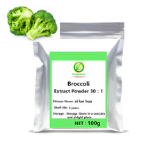 High Quality 100% pure Natural pillow Broccoli plant Extract Powder broccoli vegetables sprouts extract Sulforaphane anticancer