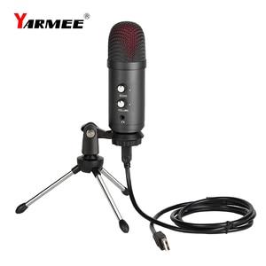 Image 2 - Professionele Usb Microfone Condensator Microfoon Voor Laptop Karaoke Zingen Streaming Gaming Podcast Studio Opname Mikrofon