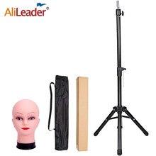 Alileader-trípode con cabeza de MANIQUÍ PARA pelucas, soporte para pelucas, cabeza de maniquí, ajustable, barato