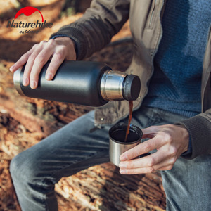 Image 5 - Naturehike Outdoor 5 Wall 304 Stainless Steel 24 Hour Vacuum Cup Flasks Coffee Tea Milk Travel Mug Thermo Bottle Gifts Thermocup