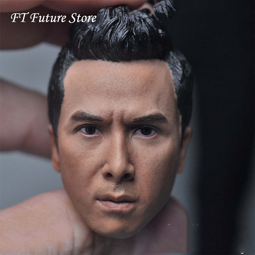 "1//6 Scale Donnie Yen Head Sculpt Model for 12/"" Action Figure"
