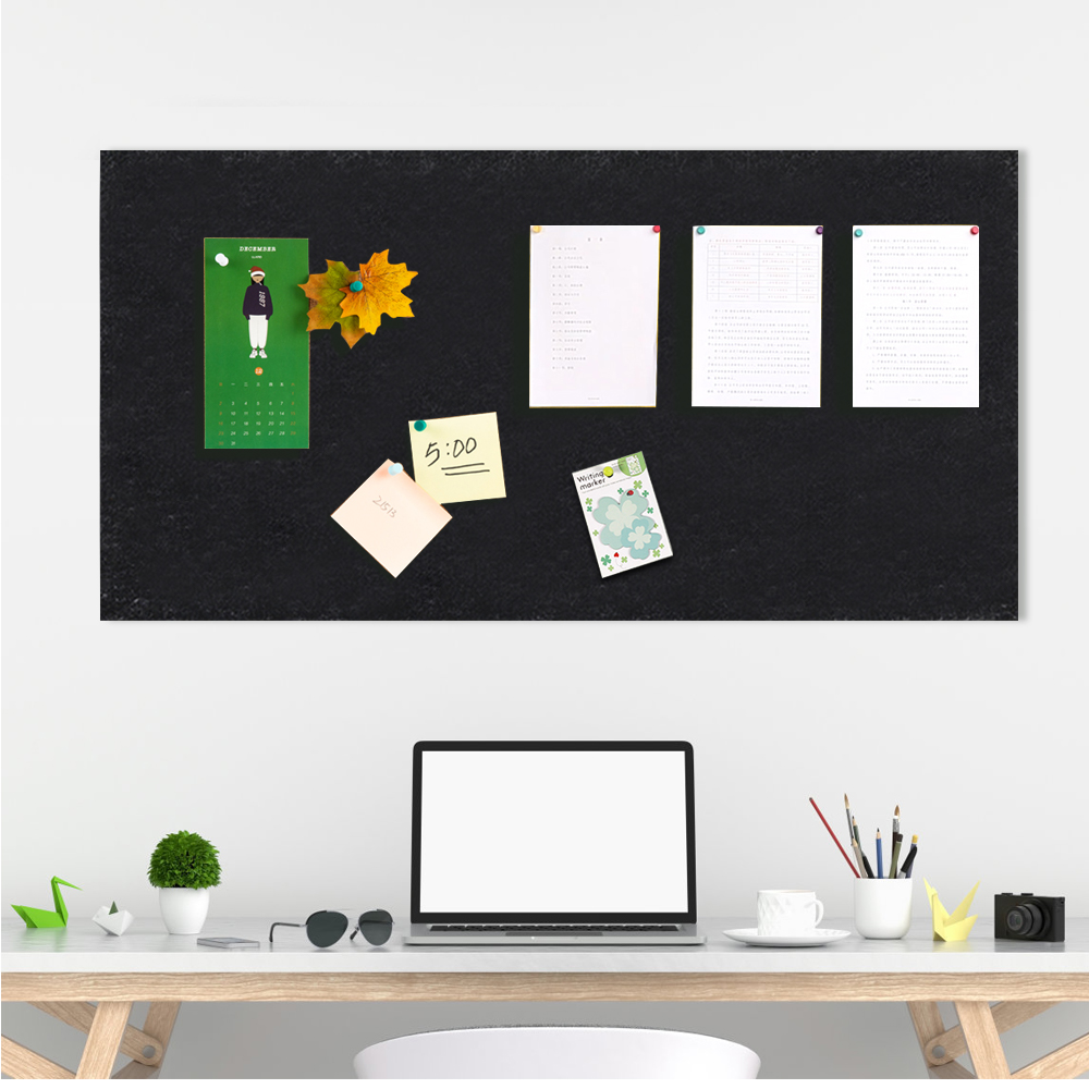 Removable Felt Cloth Message Board Home School Planner Schedule Photo Display Wall Decoration Office File Card Memo Label Holder