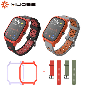 For Amazfit GTS Strap Case Kit Wrist Bracelet Protective Cover Shell Frame Protector Bumper for Huami Amazfit GTS Wristbands