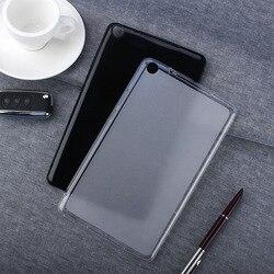 Мягкий прозрачный чехол для планшета и силикона с откидной крышкой для Huawei MediaPad M5 Lite 8 8,0 JDN2-W09 JDN2-AL00 чехол Coque Funda защитная оболочка черный