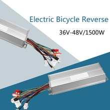 36V 48V 1500W Ebike Fiets Borstelloze Controller Sinus 45a Regeneratieve Elektrische Fiets Wave Controller Kit Anti-Diefstal Rustig