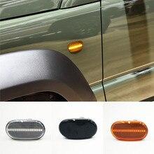 1 zestaw dynamiczny boczny znacznik włącz wskaźnik sygnału Repeater światło dla Suzuki Jimny JB64W JB74 JB23 JB64 dla Mazda dla chevroleta