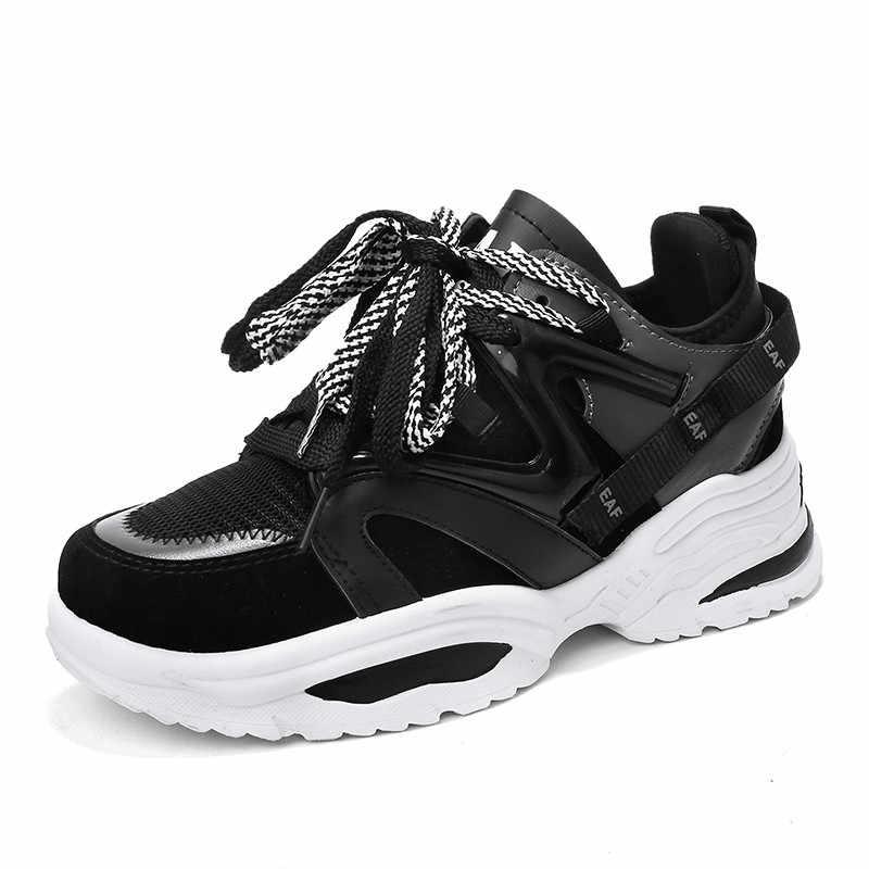 MBR kuvvet 2020 kadın tıknaz ayakkabı kalın alt tenis vulkanize ayakkabı rahat nefes moda kadın ayakkabı