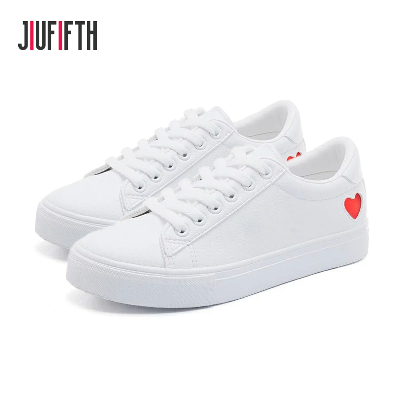 White Sneakers Women Canvas Shoes