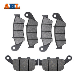 Motorcycle Front and Rear Brake Pads For HONDA XL700V Transalp Non ABS 2008-2014 XL600 97-99 XL650 00-07 XRV750 94-03