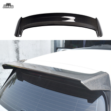 A style Carbon fiber rear roof spoiler lip for vw golf 7 Standard Edition MK7 rear trunk spoiler wing not fit Rline/GTI/R abs car rear roof spoiler wing window lip for vw volkswagen golf 7 2014 2018 mk7 7 7 5 gti r bumper only