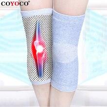 Auto aquecimento joelheiras suporte suporte voleibol 1 pcs turmalina cinta quente para artrite alívio da dor conjunta e recuperação de lesões
