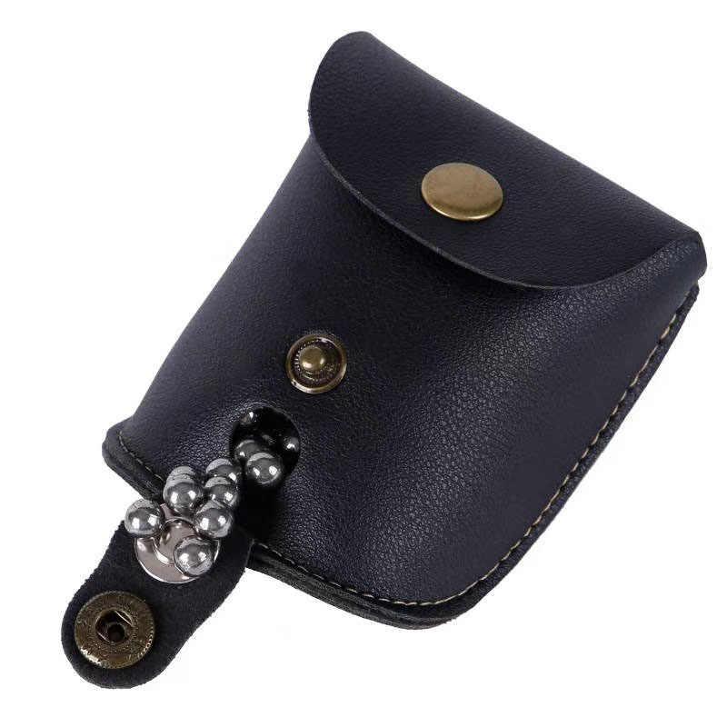 Кожаный чехол для рогатки, сумка для катапульты со стальными шариками, поясная сумка, Портативная сумка для катапульты, Охотничьи аксессуары, сумка для рогатки, 2020