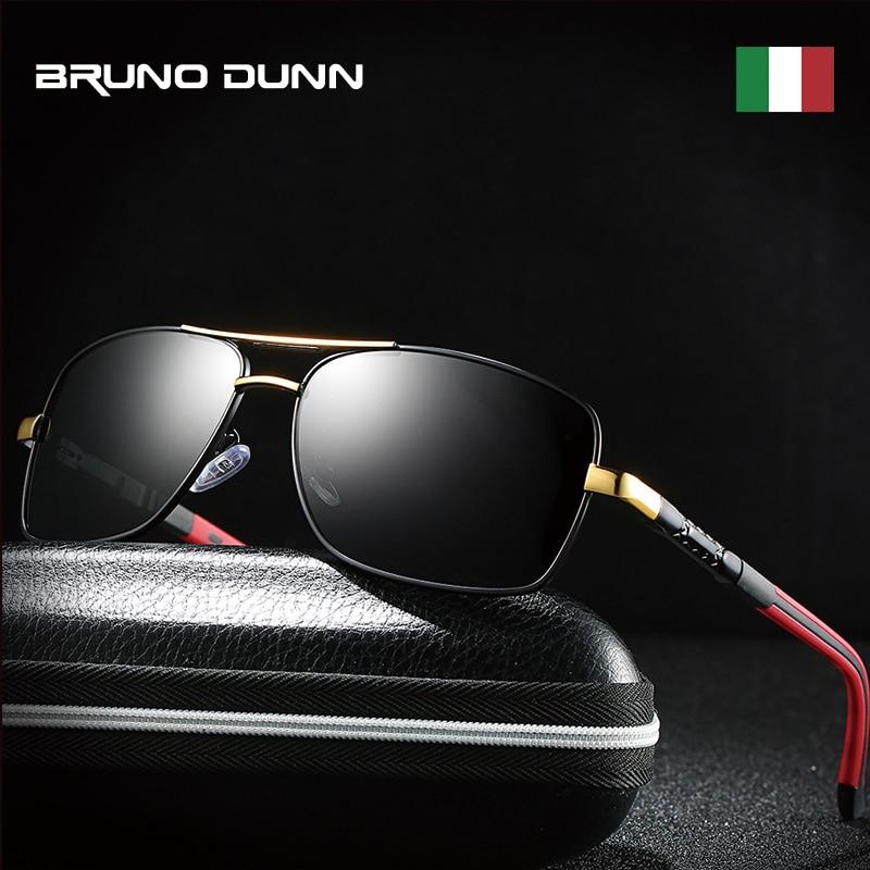 Bruno dunn luxury Brand Polarized Sunglasses Men Fashion Sun Glasses for male driving uv400 high quality oculos de sol masculino 1