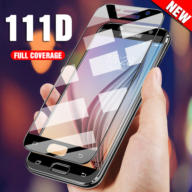 Protective Glass On For Samsung Galaxy A5 A7 A3 2017 2016 Tempered Glass For Samsung J5 J7 J4 J3 2018 2016 Screen Protector Film