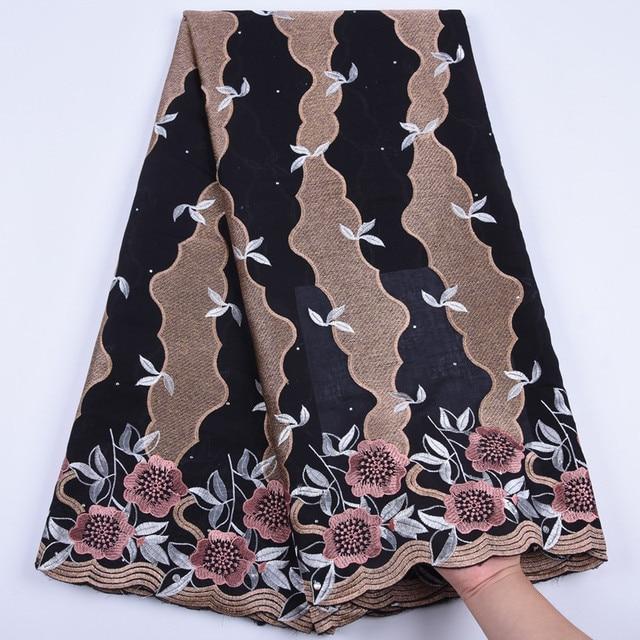 Tanie bawełniany materiał szwajcarski koronkowy woal w szwajcarii z kamieni afryki tkanina koronkowa typu dry Lace wysokiej wysokiej jakości nigeryjski koronki FabricA1692