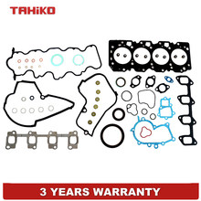 Testa completa Kit Guarnizioni Misura Per Toyota Previa Emina Lucida Estima 2.2TD 3CTE Diesel