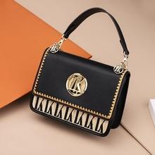 2019 Vintage Womens Designer Luxury Fashion New High quality PU Leather Women Handbags Shoulder Messenger Bag
