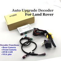 Car Rear View Reverse Camera Decoder For Land Rover Discovery/Freelander/Range Rover Velar Landrover For BOSCH/HARMAN Head Unit