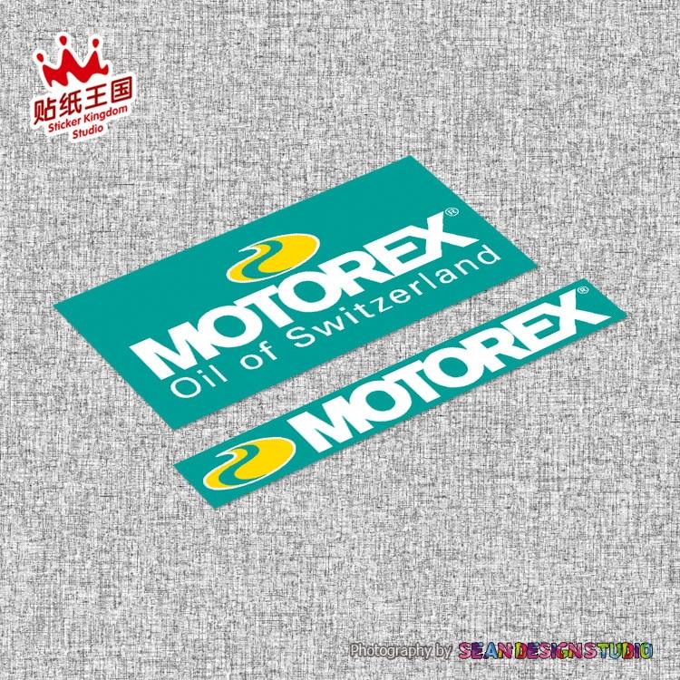For KTM MOTOREX Helmet Motorcycle Sticker Decals Waterproof 20