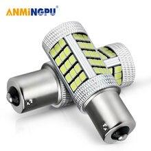 Светодиодная сигнальная лампа anmingpu для автомобиля 2 шт 2835smd