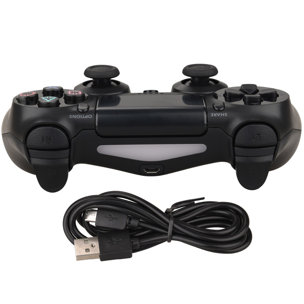 For PS4 Controller Wireless Gamepad For Sony Playstation Dualshock 4 Joystick Bluetooth Gamepad for PS4 Pro Silm PS3 PC Game Pad in Gamepads from Consumer Electronics