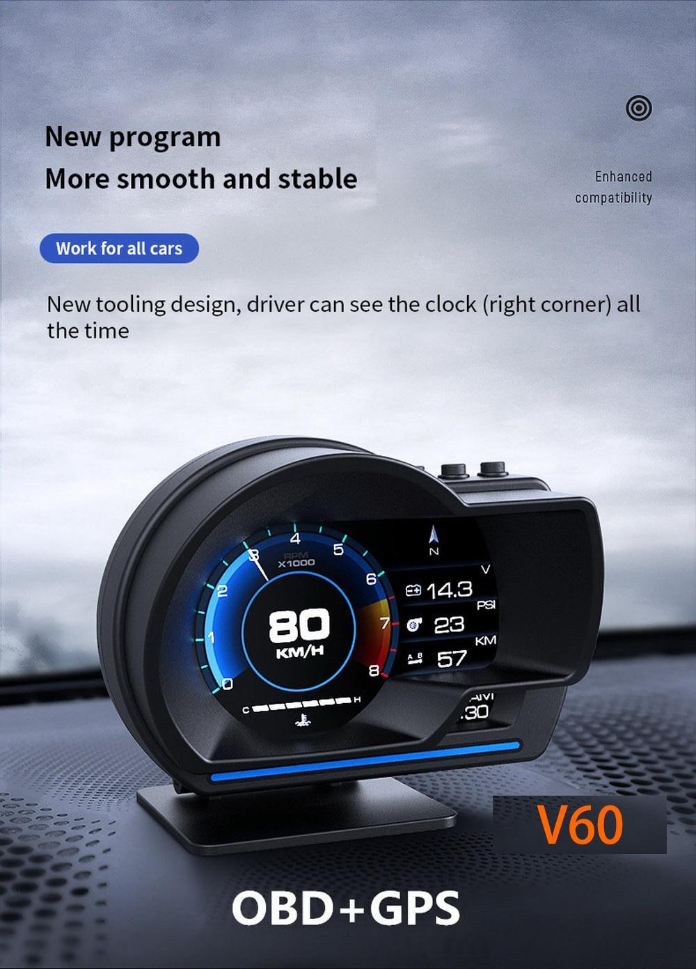 Vjoy V60 Car HUD Gauge (6)