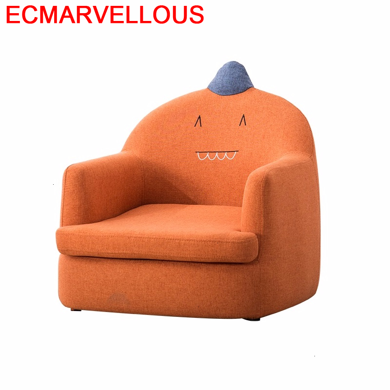 Kids Divan Bag Princess Relax Chair Recamara Silla Infantiles Lazy Boy Baby Dormitorio Infantil Chambre Enfant Children's Sofa
