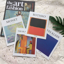 Ins Vintage Abstract Art Painting Decorative Card Album Cover Card Poster Postcard Room Decor Wall Sticker Shoot Props Cardstock