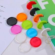 100 шт одноцветные диски конфетного цвета happy planner для
