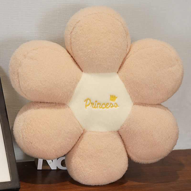 Yeni sıcak 45cm şeker renkler çiçekler peluş dolması sandalye minderi halı yer minderi ev partisi dekor arkadaşlar kızlar doğum günü hediyeleri