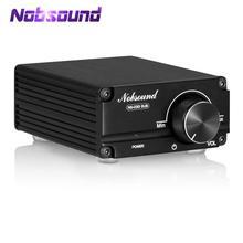 Nobsound 최신 미니 100W 서브 우퍼/전체 주파수 전력 증폭기 모노 채널 오디오 TPA3116D2 앰프