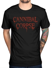 Cannibal Corpse 25 Years T-Shirt Death Metal Band Butchered Skull Tomb sbz1128
