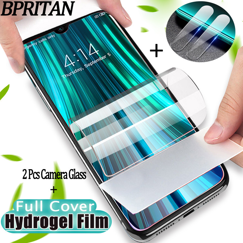 Soft Hydrogel Film For Redmi Note 8 8Pro Camera Glass Redmi Note8T Xiaomi Note 8 T Screen Protector Protective Film Redmi 8 Pro