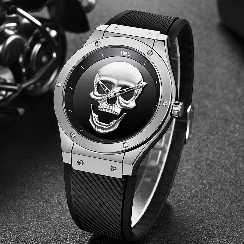 2020 LIGE New Fashion Personality Mens Watches Top Brand Luxury Silica Gel Watch Men Quartz Waterproof Watches Relogio Masculino