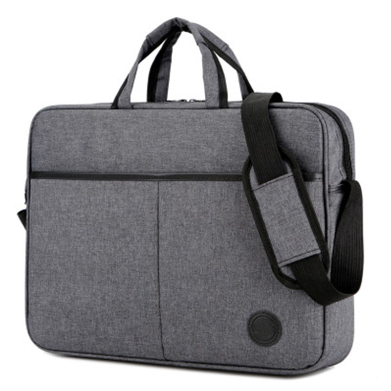 <font><b>15.6</b></font> inch <font><b>Laptop</b></font> Shoulder Bag Cover <font><b>Case</b></font> For HP DELL Computer Notebook PC Oxford+Polyester lining 16.54''x12.20''X3.54'' image