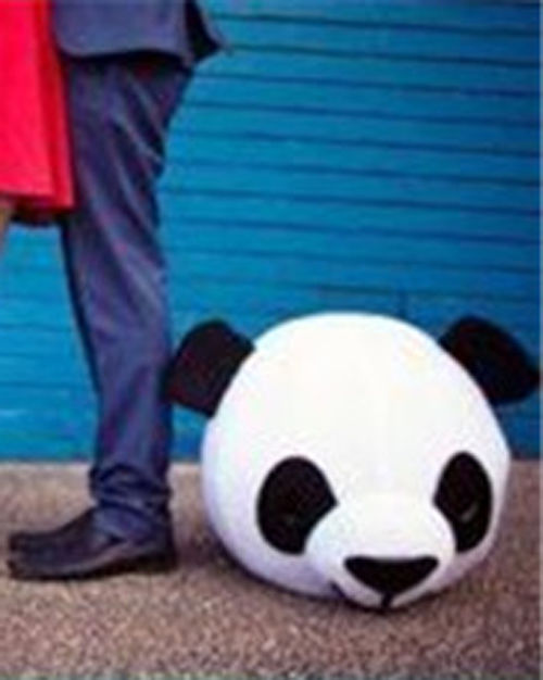 Хэллоуин любовник головы Панда и медведь маскарадный костюм нарядное платье Свадебная вечеринка реквизит взрослый Косплей наружная голов... - 6