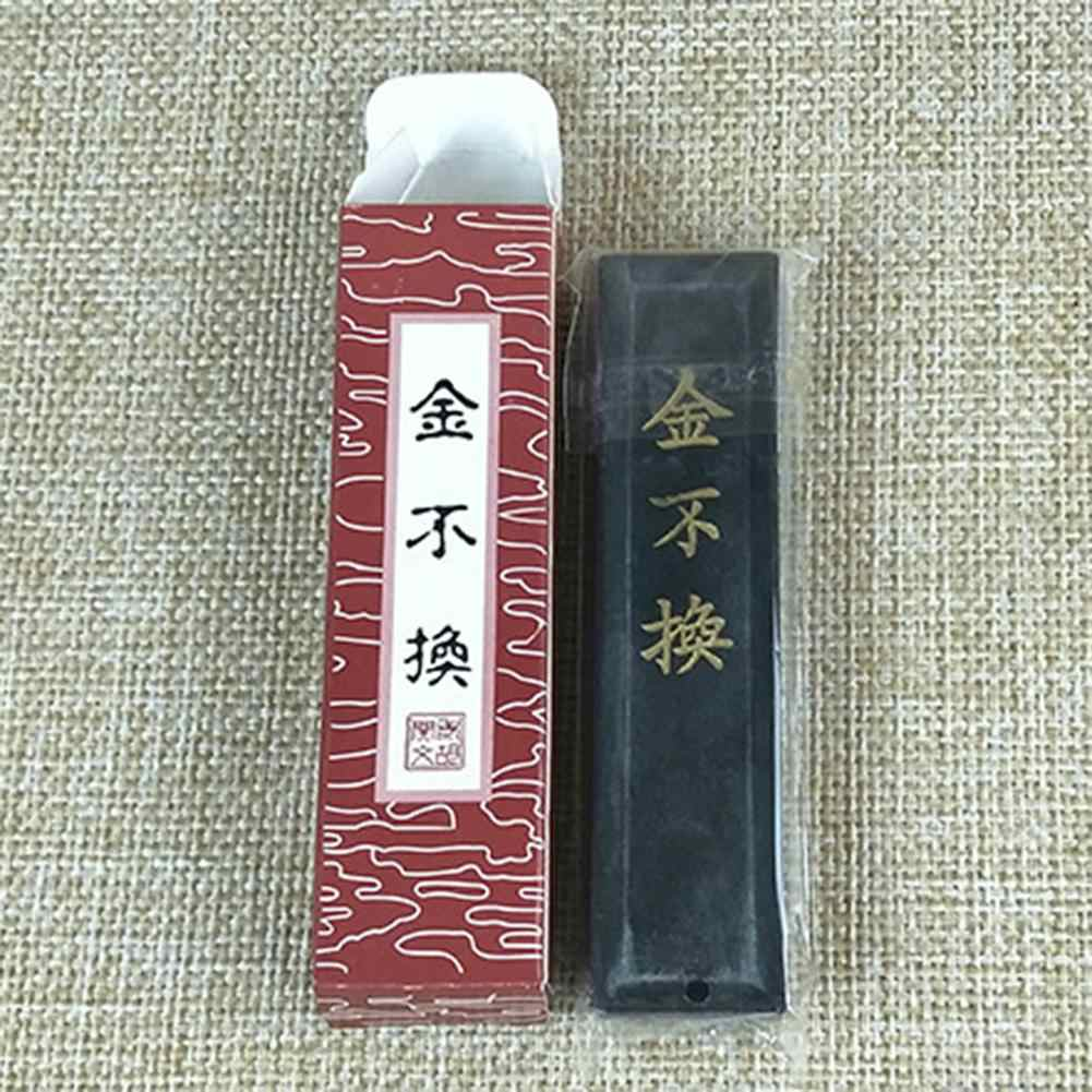Exquisite Ink Stick Set Traditional Chinese Painting Inkblock Calligraphy Writing Drawing Sumi-e Water Grinding Ink