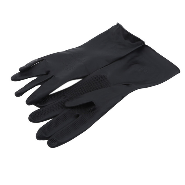 1 Pair Hair Thicker Rubber Gloves Hair Dyed Gloves Durable anti-slip Beauty Salons Hairdressing Hair Care Styling Tools Hot 5